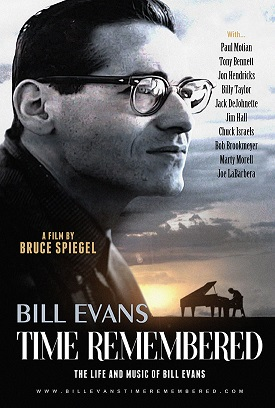 Official Film Poster Bill Evans Time Remembered